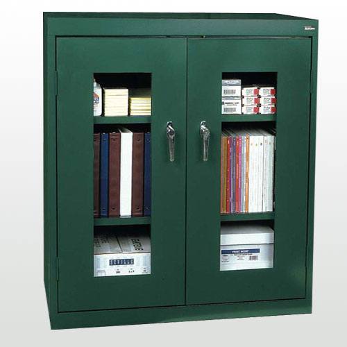 Clear View Counter Height Cabinet - Sandusky
